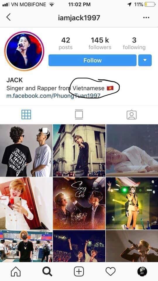 Jack ,sao Việt
