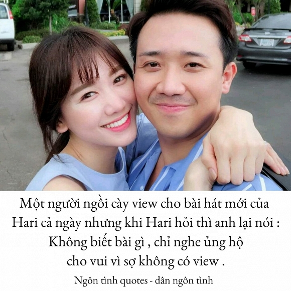 Hari Won,Trấn Thành,sao Việt