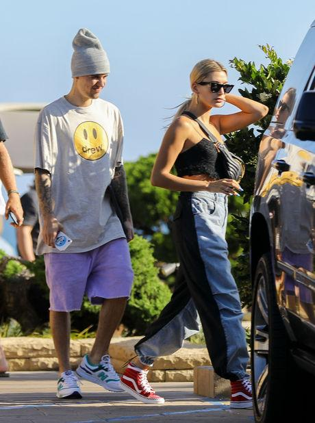 justin bieber, hailey baldwin, sao hollywood