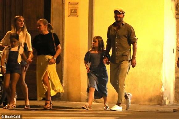 Harper Seven,con gái David Beckham, sao hollywood