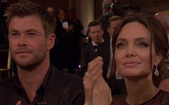 Chris Hemsworth, Angelina Jolie, sao Hollywood