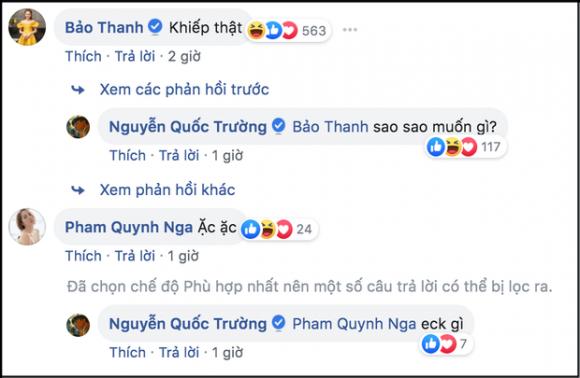 Quốc Trường, Bảo Thanh,  Quỳnh Nga, sao Việt
