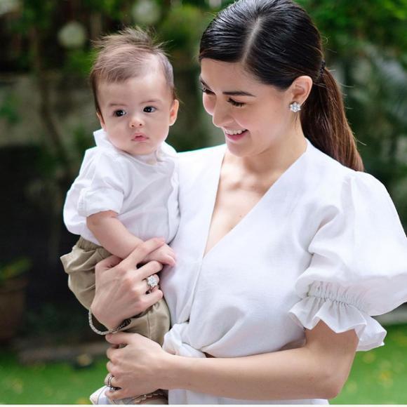 Marian Rivera,mỹ nhân đẹp nhất Philippines,sao Philippines,con trai Maria Rivera