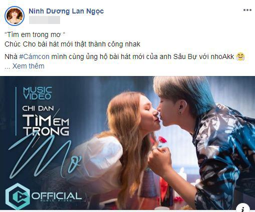 Ninh Dương Lan Ngọc, Chi Dân, sao Việt