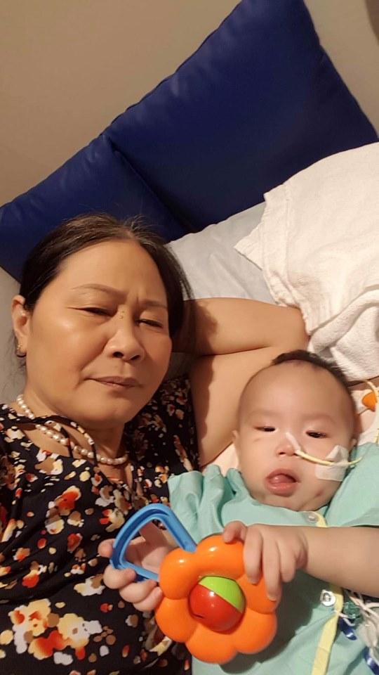 ca sĩ Minh Hiền, con trai Minh Hiền, ghép tủy