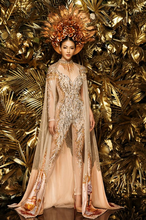 Miss Earth 2018,Phương Khánh,trang phục dân tộc của Phương Khánh,sao Việt
