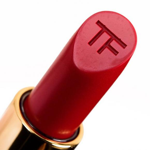Son Tom Ford, Cherry Lush swatch, Gen Cosmetic