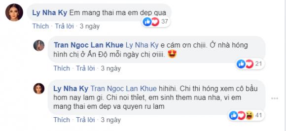 Lan Khuê,  Lý Nhã Kỳ, sao Việt
