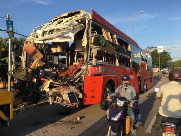Xe khách đâm nhau, tai nạn giao thông, tai nạn xe khách