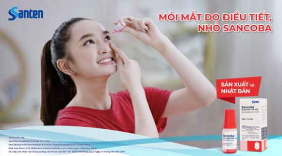 Sancoba, Thuốc nhỏ mắt, Huy Cung, Kaity Nguyễn