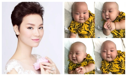 Trà My idol, con của Trà My idol, sao Việt