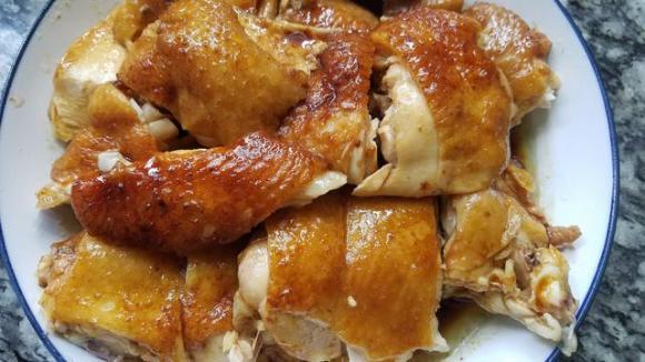 dạy nấu ăn, nấu món gà, nấu gà hạt dẻ