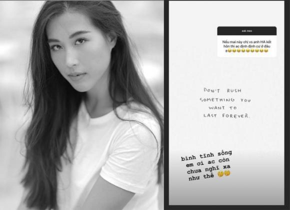 Huỳnh Anh, Y Vân, bạn gái Huỳnh Anh