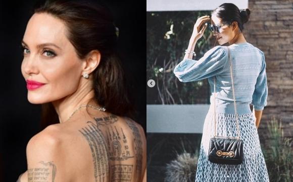 Angelina Jolie,  Phạm Hương, sao Việt