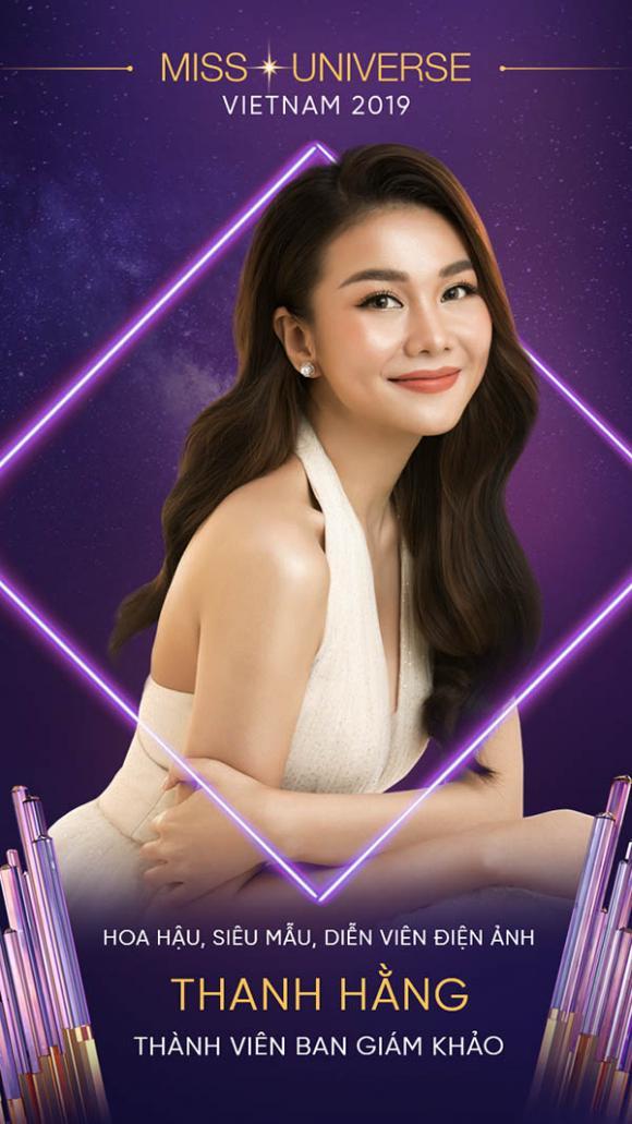 Siêu mẫu, Thanh Hằng,NTK Công Trí, Hoa hậu Hoàn vũ Việt Nam 2019, sao Việt