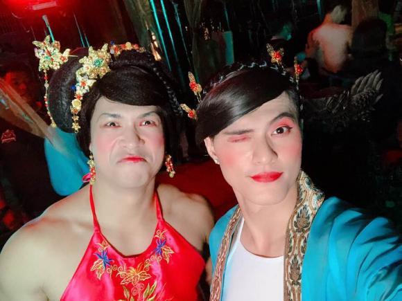 trương thế vinh, Lâm Vinh Hải, sao Việt, giả gái