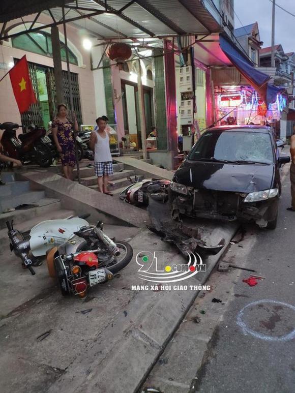 tai nạn giao thông, xe điên, Gang Thép, Thái Nguyên