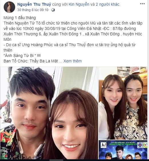 Thu Thuỷ, chồng của ca sĩ Thu Thuỷ, con trai ca sĩ Thu Thuỷ, sao Việt