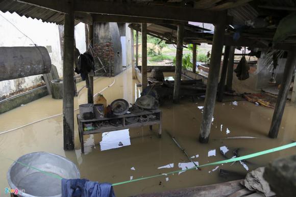 Lũ lụt miền Trung, Hà Tĩnh, Mưa lũ