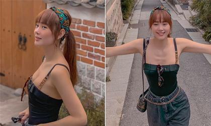 H'Hen Niê, Thời trang sao việt, Váy xẻ ngực