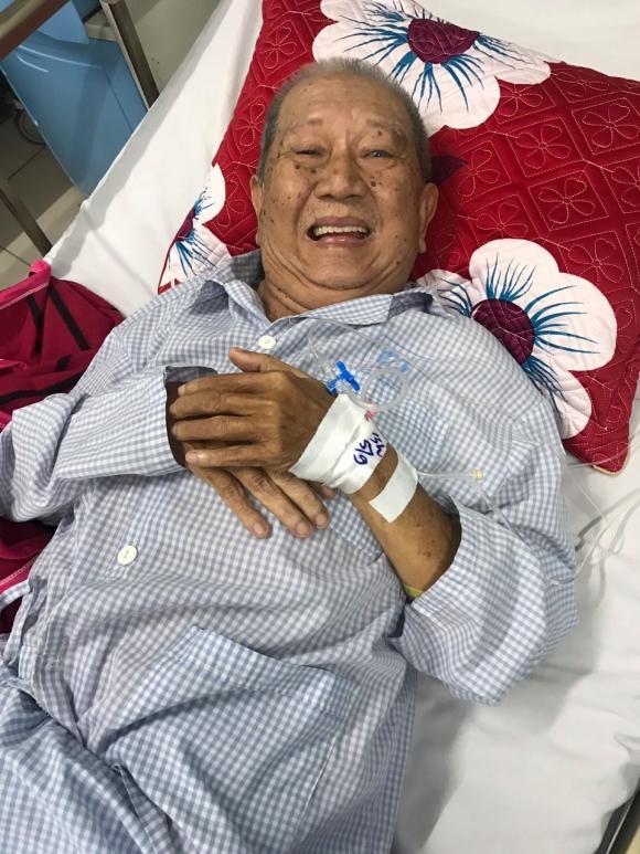 Diễn viên Mạc Can không bị đụng xe, chỉ ngất vì xuất huyết dạ dày và đã hồi phục sức khoẻ