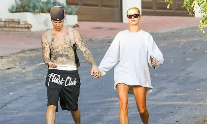 Justin Bieber,Hailey Baldwin,sao Hollywood