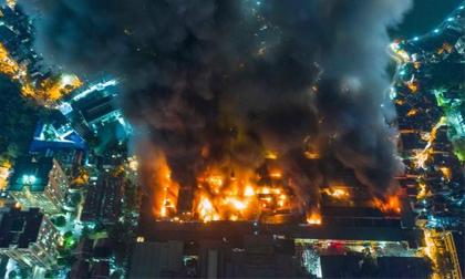 cháy Công ty Rạng Đông, Hỏa hoạn, Thủy ngân, Môi trường nhiễm thủy ngân