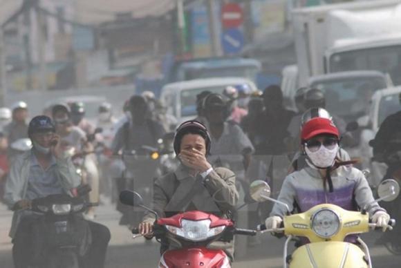 ô nhiễm không khí, thành phố ô nhiễm, Hà Nội, TP.HCM