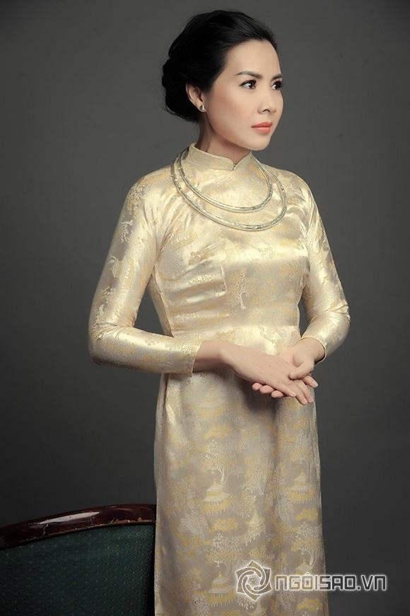 NTK Việt Hùng tái hiện quý bà thập niên 60 với Á quân Đại sứ áo dài Ngọc Diễm