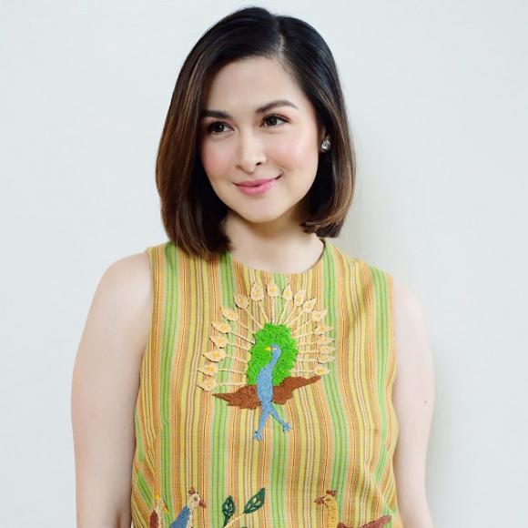 marian rivera, mỹ nhân đẹp nhất philippines, xuống tóc, tóc ngắn
