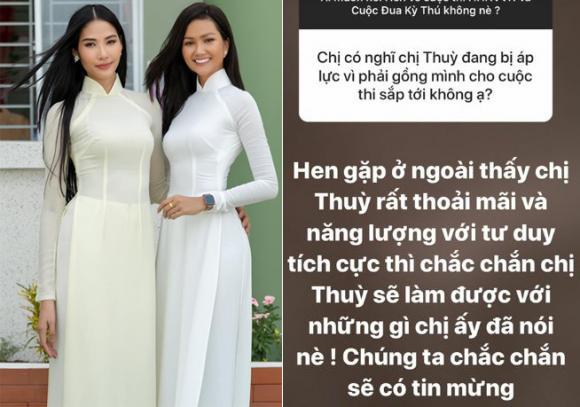 H'Hen Niê dự đoán thành tích của Hoàng Thùy khi thi Hoa hậu Hoàn vũ: 'Chắc chắn sẽ có tin mừng'