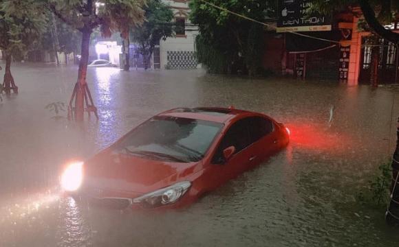 Thái Nguyên, mưa lũ, thiên tai