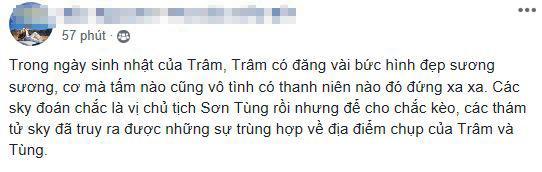 Sơn Tùng M-TP, Thiều Bảo Trâm, bạn gái tin đồn Sơn Tùng, sinh nhật Thiều Bảo Trâm, Sơn Tùng và Thiều Bảo Trâm đi du lịch