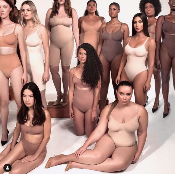 kim kardashian, nội y định hình, sao hollywood