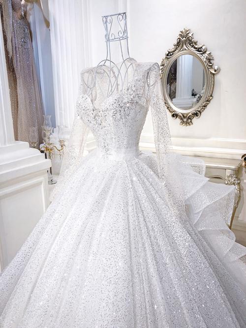 con gái minh nhựa, Minh Nhựa, váy cưới