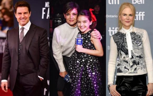 Katie Holesm,Tom Cruise,vợ cũ Tom Cruise,Suri Cruise,sao Hollywood