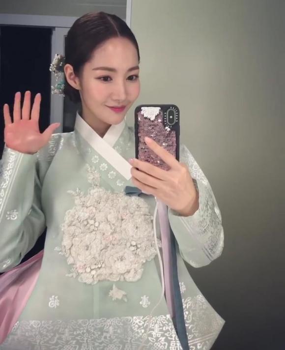 park min young, hanbok, thời trang của park min young, sao hàn