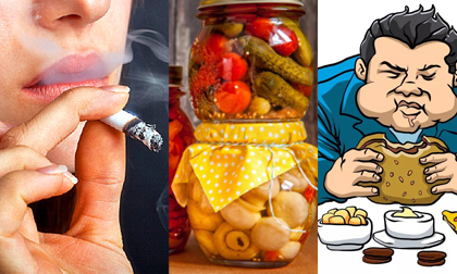 thực phẩm tuyệt vời giúp làm sạch phổi, chăm sóc sức khỏe đúng cách, chế độ ăn uống tốt cho người hút thuốc lá