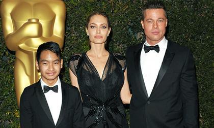 Angelina Jolie vẫn nói chuyện với chồng cũ,Angelina Jolie,chồng cũ của Angelina Jolie,sao Hollywood