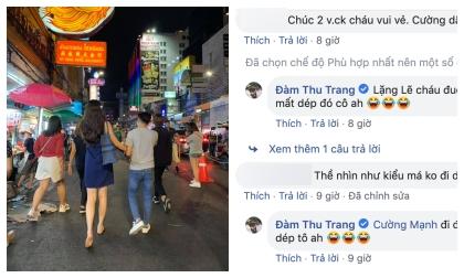 Đàm Thu Trang, Subeo, Cường Đô la