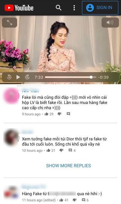 diễn viên Sĩ Thanh, sao Việt,Sĩ Thanh bị tố đập hộp hàng fake