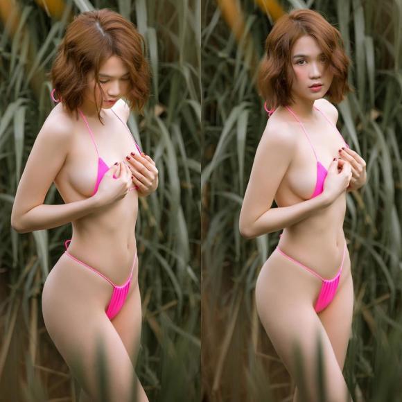 Ngọc Trinh,body của Ngọc Trinh,sao Việt,Ngọc Trinh diện bikini,Nữ hoàng nội y