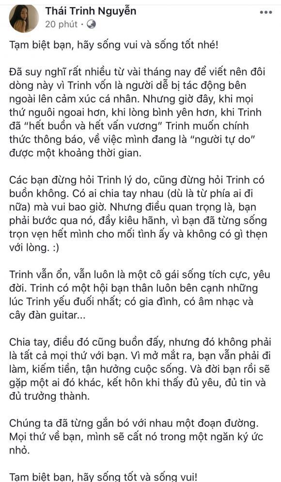 Thái Trinh,  Quang Đăng, sao Việt