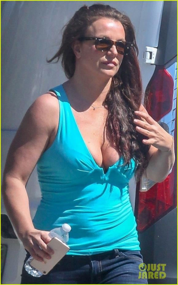 Britney Spears,thân hình sồ sề của Britney Spears,sao Hollywood