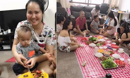 Minh Hiền, sinh nhật Minh Hiền, sao Việt chữa bệnh cho con