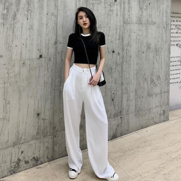 thời trang, quần ống rộng