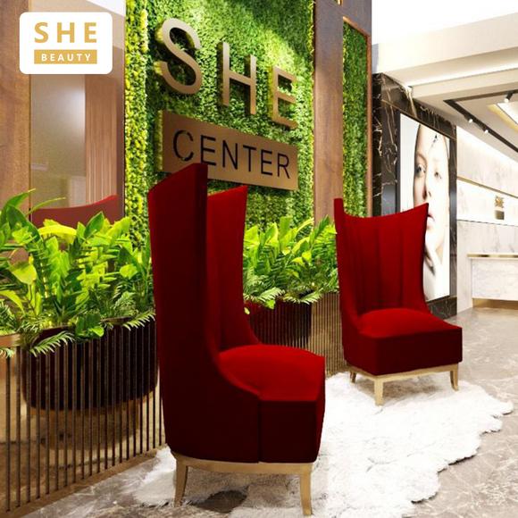She Beauty Center, chăm sóc da cao cấp, địa chỉ làm đẹp uy tín