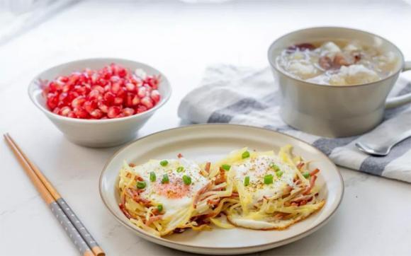 bữa sáng, trứng