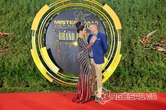 Hoa khôi Hương Hoàng, Mister Việt Nam 2019, Sao việt