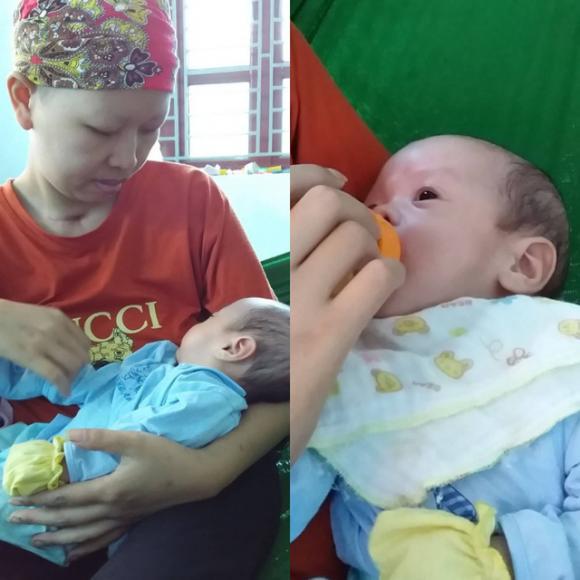 Bé Bình An, Mẹ ung thư sinh con, Mẹ ung thư
